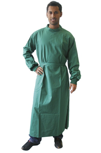 Surgical Gown - Forest Green